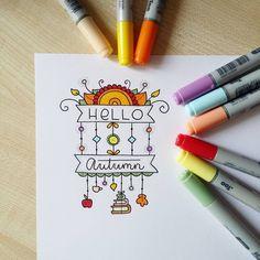 "Gefällt 617 Mal, 9 Kommentare - Valeria Estonia ✌ RU (@blackberryjelly) auf Instagram: ""8/365 #autumn for #doodleadaysept #doodle #copic #drawing #draweveryday #markers #instaart…"""