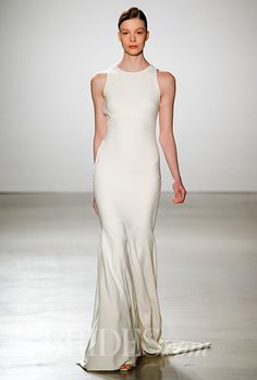 Brides.com: . Wedding Dress by Amsale