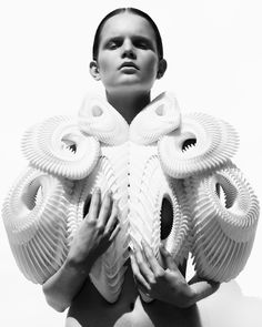 Iris Van Herpen, a runway artist. Beautiful work!