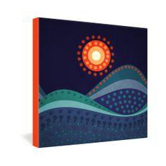 Viviana Gonzalez Summer Night Gallery Wrapped Canvas | DENY Designs Home Accessories
