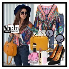 """SheIn"" by deedee-pekarikhihiha ❤ liked on Polyvore featuring H&M, Mark Cross, Miu Miu, Christian Dior, blouse and shein"