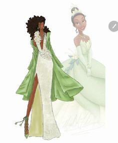 Дизайнерское платье принцессы Тианы