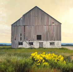 Barn on line. oil on panel. Shed, Barn, Sketches, Outdoor Structures, Oil, Explore, House Styles, Photos, Painting