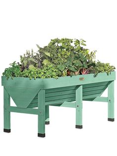 VegTrug Patio Garden - Robin Egg Blue Elevated Garden Bed