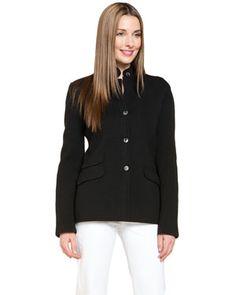 Loro Piana® Black Silk Jacket