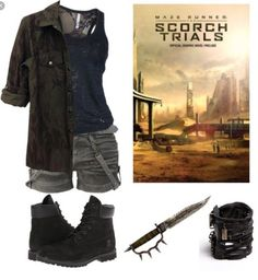 Coral's scorch outfit
