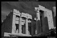 Athens Acropolis propylaea ,by Aderstudio