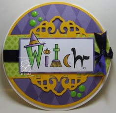 Sarah Wolf Taylor: Aunt Bee's Pickles: Witch Word Art - 9/20/16.  (Pin#1: 2 Cute Ink digis.  Pin+: Halloween: Witch...).