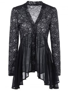 GET $50 NOW | Join RoseGal: Get YOUR $50 NOW!http://www.rosegal.com/blouses/button-up-floral-lace-blouse-1067008.html?seid=7981541rg1067008