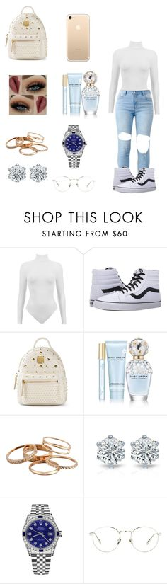 """"" by dajahknox ❤ liked on Polyvore featuring Vans, MCM, Marc Jacobs, Kendra Scott, Rolex and Linda Farrow"