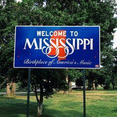 Welcome to #Mississippi! I Miss Mississippi!
