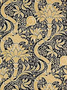 william morris, Indian Black/Gold