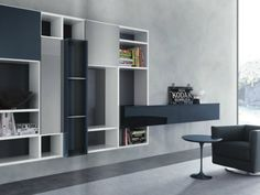 Open Storage Wall Unit