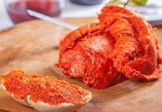 Cómo preparar Sobrasada Vegana, Tapas, Aperitivos y Entrantes Vegetarianos y Veganos. Ingredientes: Tomate , Pimienta, Sal , Almendra tostada , Ajo en po...