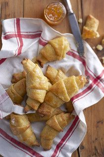gluteeniton croissant! Foods With Gluten, Gluten Free Recipes, New Recipes, Cooking Recipes, Sweet Pastries, Sweet Desserts, Bread Baking, Food Inspiration, Bakery
