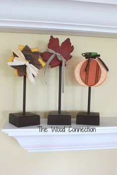 School is in and so are our new Fall products! Here is a glimpse at some of our favorite Fall Items that are now available in the store! Leaf Door Hang $13.95 (Optional momgram vinyl$3.95) Autumn $11.70 Fall Trio $16.00 Harvest $14.95 Leaf on 5×7 Block $7.75 (Optional Vinyl $3.00) Pumpkin Door Hang $12.95 Scarecrow $9.95 Small Fall $8.95 Stacking Pumpkins $5.95 Each Sunflower Trio $14.85 **All images and designs are Copyright of THE WOOD CONNECTION. Any violation of our copyright will…