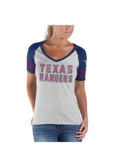 Texas Rangers Women's Ballpark V-Neck Shirt