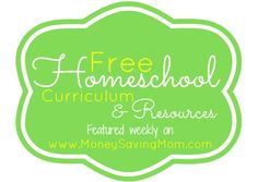 Whether you homeschool or not, these are great resources for kids activities and learning! | Free Homeschool Curriculum and Resources