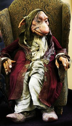 """2nd Star Festival 2015 - Florence, OR - Toby Froud's Lessons Learned film - Character """"Grandfather"""" - http://www.stripeypajamaproductions.com/"""