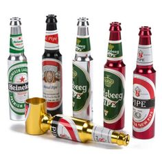 Beer Bottle Smoking Pipe