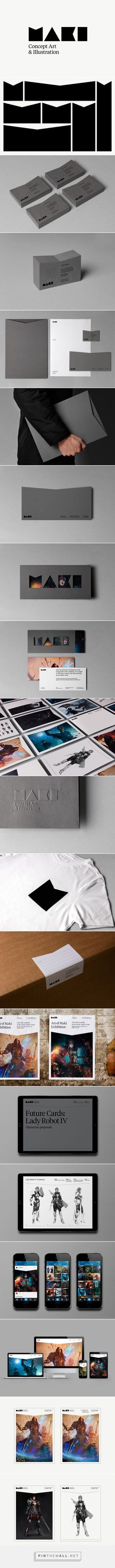 Maki on Behance... - a grouped images picture - Pin Them All