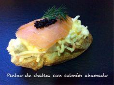 Chatka con salmón ahumado