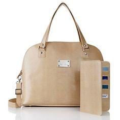 Joy Mangano Madison Avenue Handbag with Travel Wallet at HSN.com