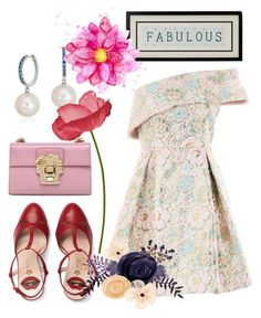 """Untitled #3917"" by hanii-omachiss ❤ liked on Polyvore featuring Topshop, Gucci, Dolce&Gabbana and Blue Nile"