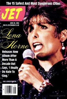 jet magazine covers Lena Horne looked just like that when I met her in Bal Harbour buying a whole bunch of books and later that week when I saw her perform live. She was stunning!