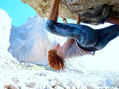 Bouldering at Picos de Europa. Spain