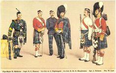The Sutherland Highlanders - Windsor Military Uniforms, Military Art, Military History, British Army Uniform, British Uniforms, Highlanders, Kilts, American Revolution, Sailors