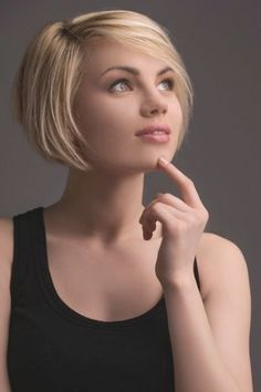 Beautiful Hairstyle Bob Short Have you ever been thinking about the Bob hairstyle, Short, the you will see look like a retro Diva....