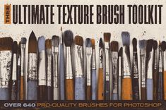 The Ultimate Texture Brush Toolkit