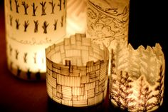 #DIY paper lantern on Crafted in #Carhartt