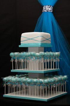 cake pop wedding cake! wedding-wow