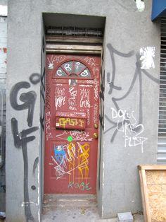 Door in Williamsburg Brooklyn
