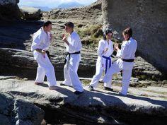 Karate Kyokushin Sibiu - Antrenament in Muntii Bucegi - Tehnici de lupta