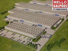 condomínio de galpões alto padrão em camaçari, para logística ou indústria, segurança com portaria 24 horas, piso alta resistência, com até 6 tons. por m2, galpões em módulos expansíveis de acordo com a necessidade do cliente, a partir de módulos de 1.200 m2 e 5.998 m2, podendo chegar a até 89.977,59 m² em um único galpão, ou até 4 grandes galpões com até 193.701 m2 de área construída, sendo galpão com 6 mil m2 a 17,9 mil m2, outro galpão com 6 mil m2 até 89 mil m2, e outro galpão com área…