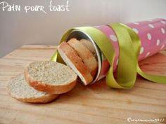 pain rond pour toasts { cuit dans un tube homemade !} {astuce } • Hellocoton.fr