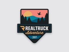 RealTruck Adventure 2017 Expedition Patch by Carl Craig #Design Popular #Dribbble #shots