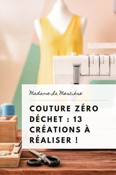 Couture inspiration : 13 créations à coudre pour aller vers du zéro déchet