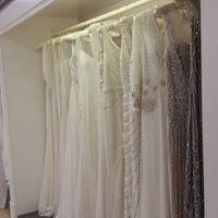 Image may contain: indoor Designer Wedding Dresses, Wedding Gowns, Wedding Day, Showroom, Indoor, Bride, Inspiration, Image, Home Decor