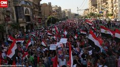 Protesters to Egypt's Morsy: You have one day to step down...JULY 1, 2013