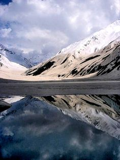 Lake Saif-ul-Maluk, Pakistan. Saif-ul-Muluk is an alpine lake located at the northern end of the Kaghan Valley. (V)