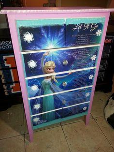 Frozen Dresser we did. Like us on Facebook Imagine Your Furniture