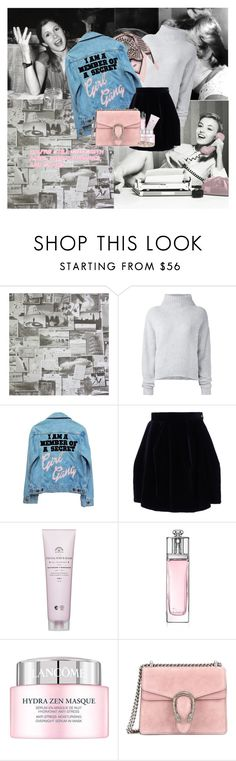 """""""I AM A MEMBER OF A SECRET #GIRL GANG"""" by sascha-haarup on Polyvore featuring Andrew Martin, Le Kasha, High Heels Suicide, Vivienne Westwood Red Label, Christian Dior, Lancôme, Gucci and Valentino"""