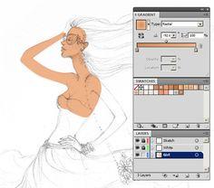 How to Create a Colorful Fashion Illustration in Adobe Illustrator - Part 1 - Tuts+ Design  Illustration Tutorial