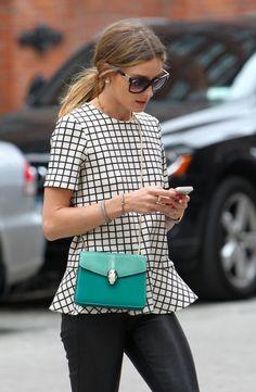 @Olivia Palermo   was spotted wearing @Bulgari Official Serpenti Scales sunglasses #OliviaPalermo #Bulgari #sunglasses
