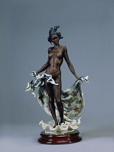 Limited Edition Art featurinig WDCC, Disney Fine Art, African American Art, Fine Art, Mixed Media Sculptures and Much More. Black Figurines, Ebony Color, Lampe Art Deco, Black Artwork, Afro Art, Female Art, Sculpture Art, Fantasy Art, Fine Art