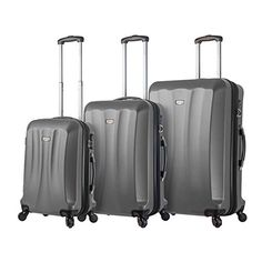 Luggage Sets Collections | Viaggi Siena 3pc Slv Silver >>> You can find out more details at the link of the image. Note:It is Affiliate Link to Amazon.